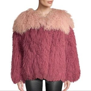 BNWT H Brand Andie Two Tone Shearling Teddy Jacket